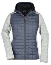 Ladies´ Knitted Hybrid Jacket